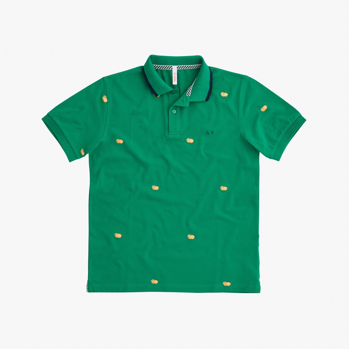 POLO FULL EMBRODERY EL. VERDE PRATO