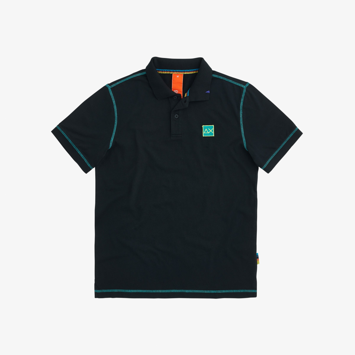 POLO COLD DYE CONTRAST STITCHING INCHIOSTRO