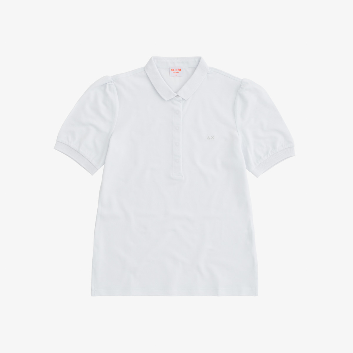 POLO NEW PRINCESS S/S EL. BIANCO