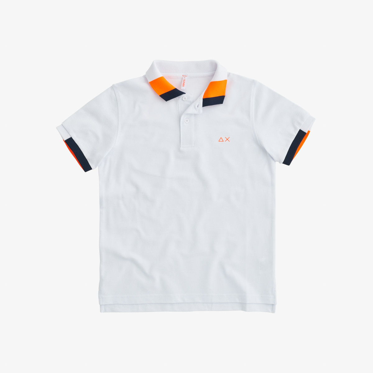 BOY'S POLO FLUO MULTICOLOR EL. WHITE