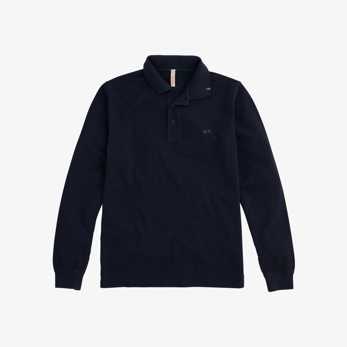 POLO VINTAGE L/S NAVY BLUE
