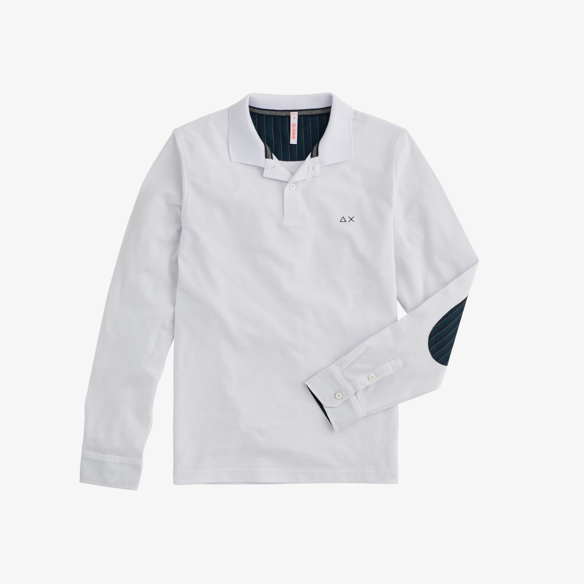 POLO EL. ELBOW SHIRT FABRIC L/S WHITE