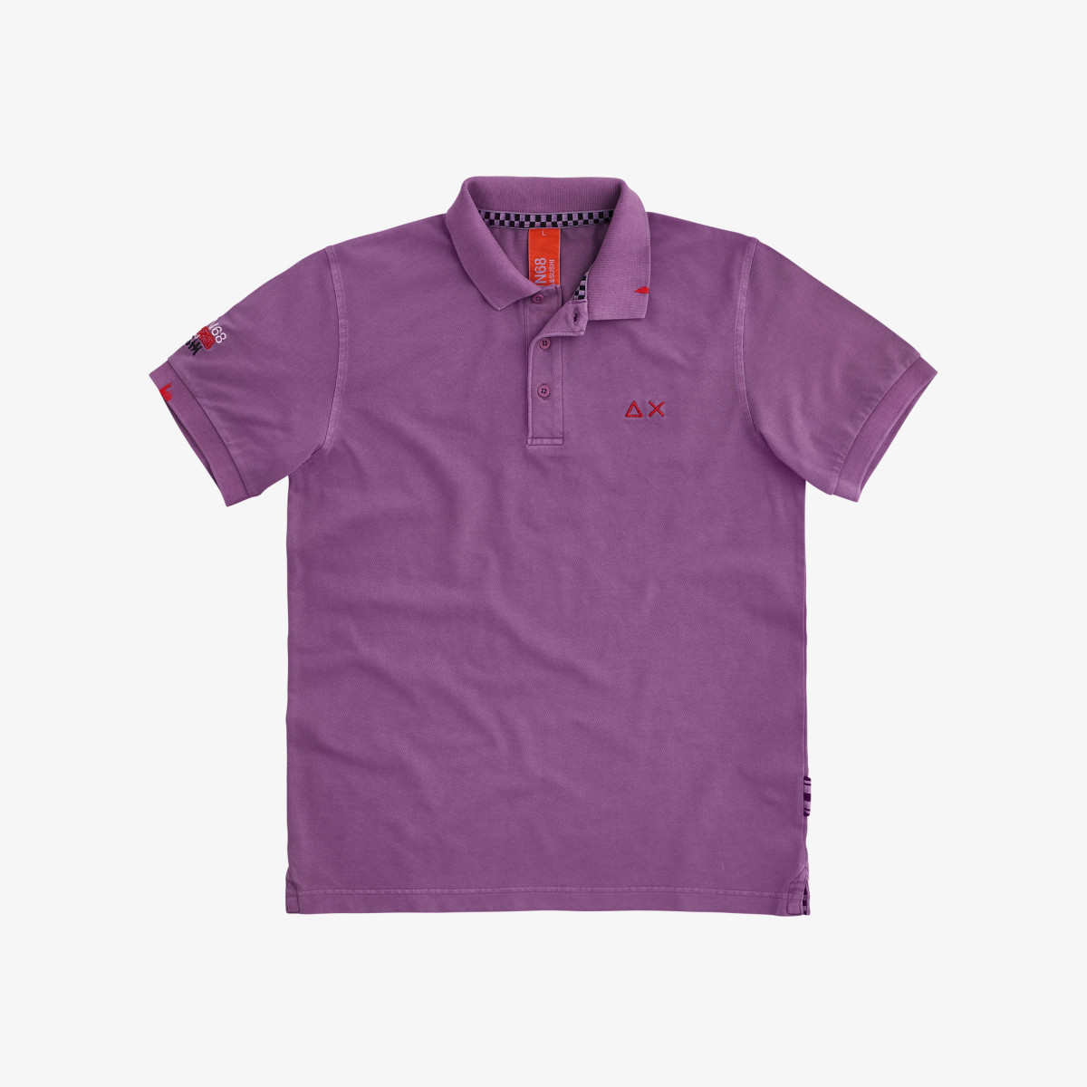 POLO EL. SPECIAL DYED S/S LILLA