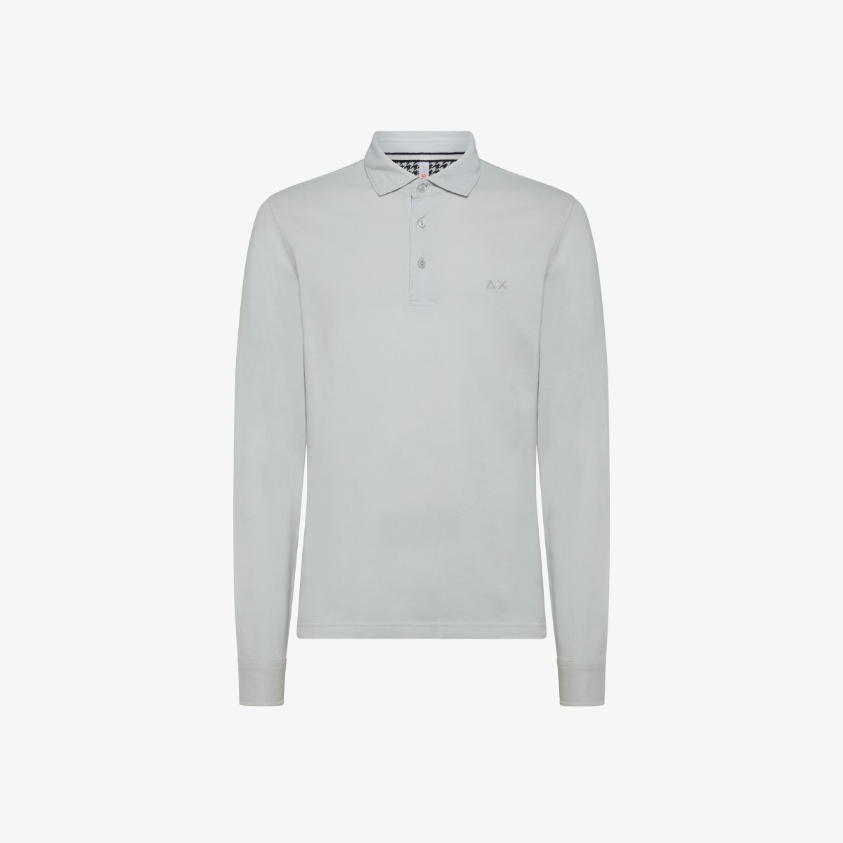 POLO EL. SHIRT COLLAR COLD DYE L/S OYSTER