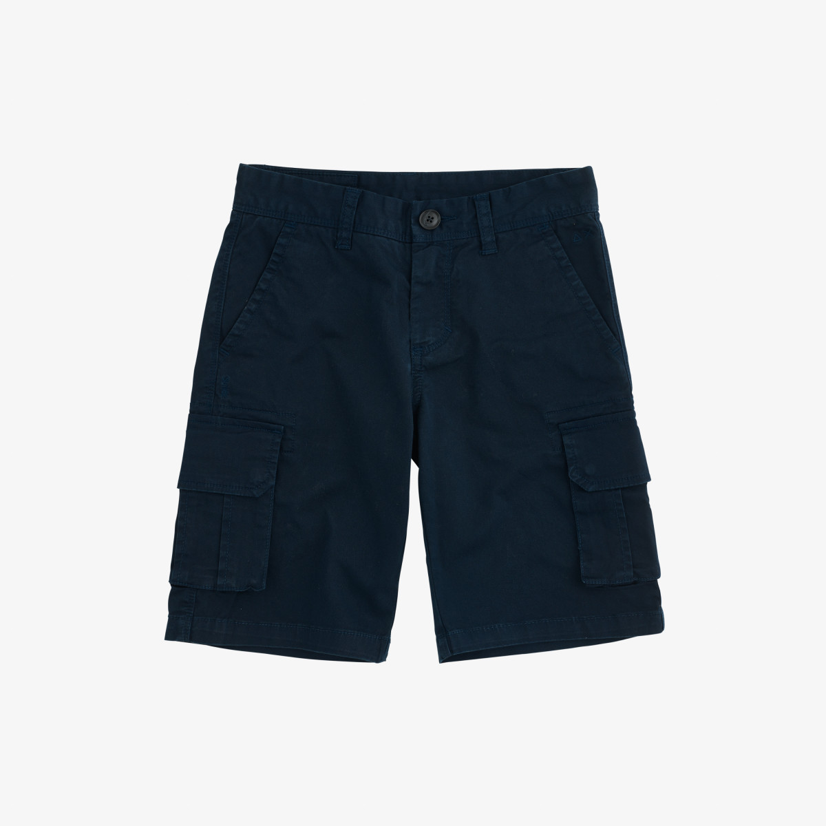 BOY'S MILITARY PANT SOLID NAVY BLUE