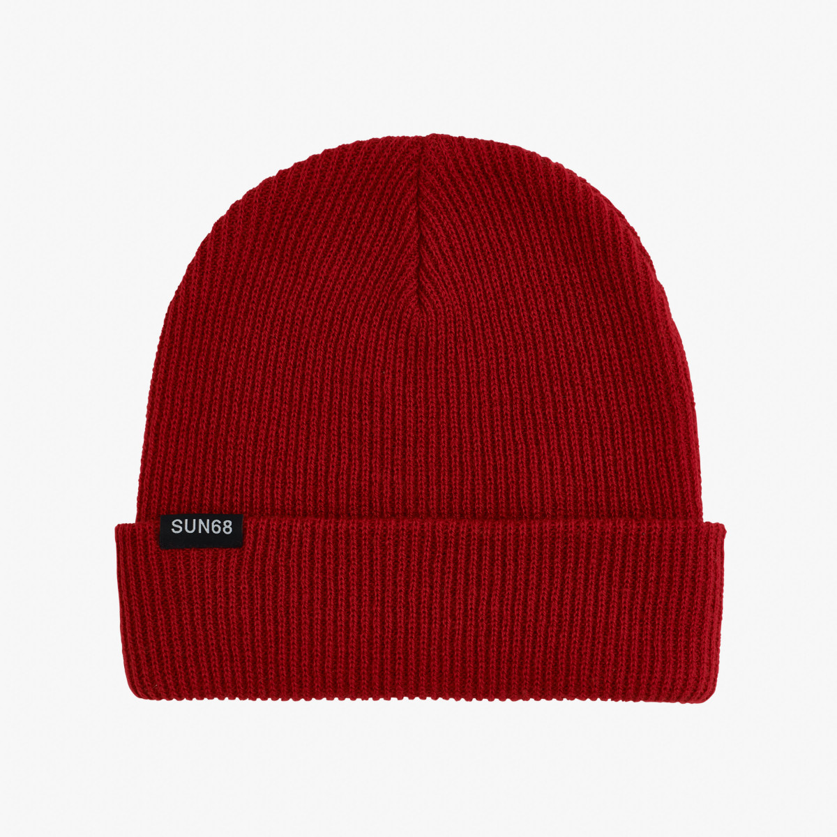CAP SOLID FUNKY RED