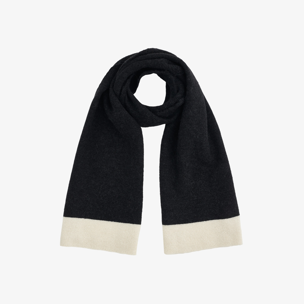 SCARF BASIC BLACK