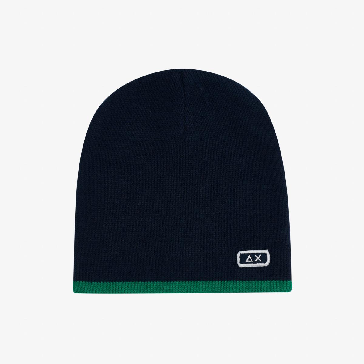 BOY'S CAP BASIC NAVY BLUE