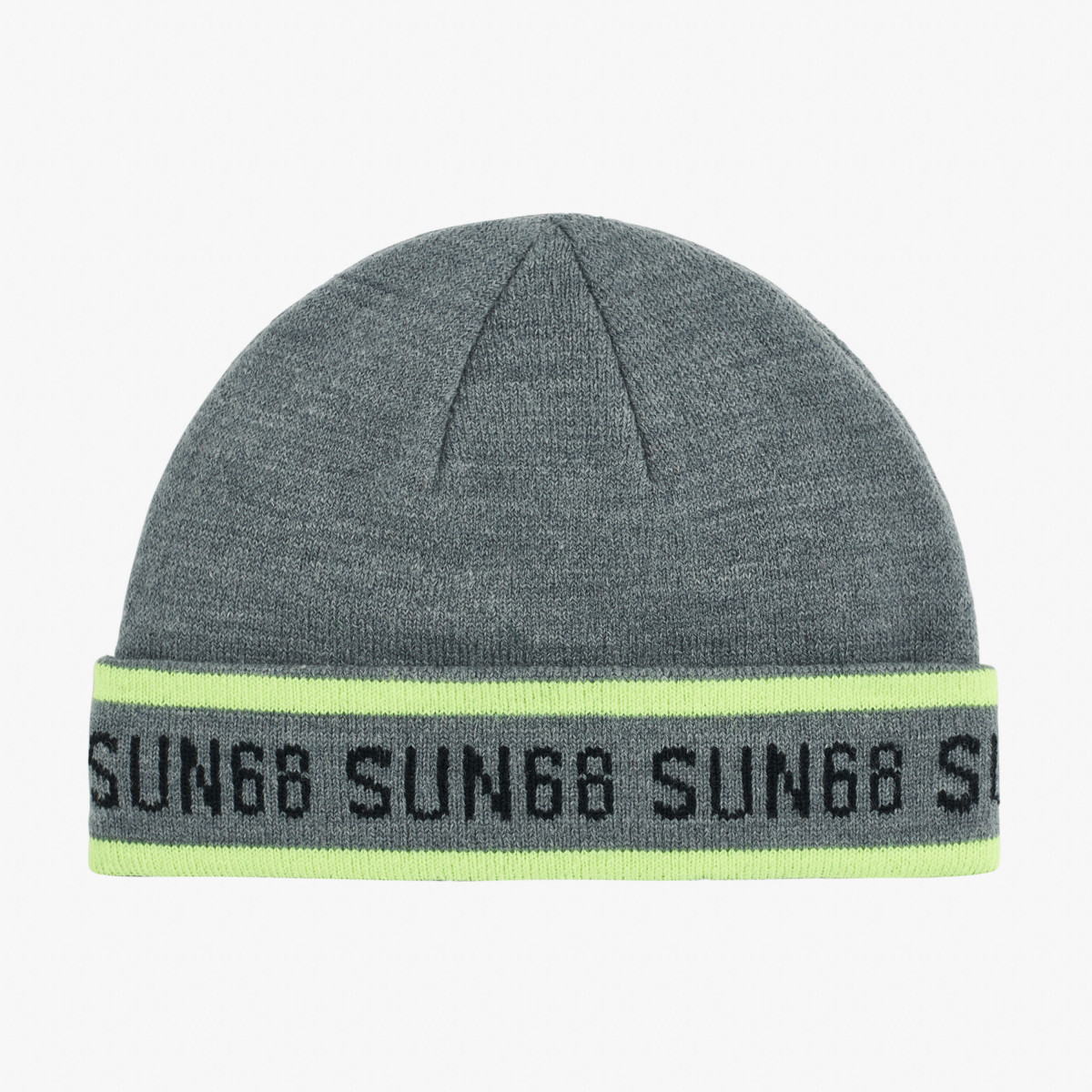 BOY'S CAP FLUO LOGO MEDIUM GREY