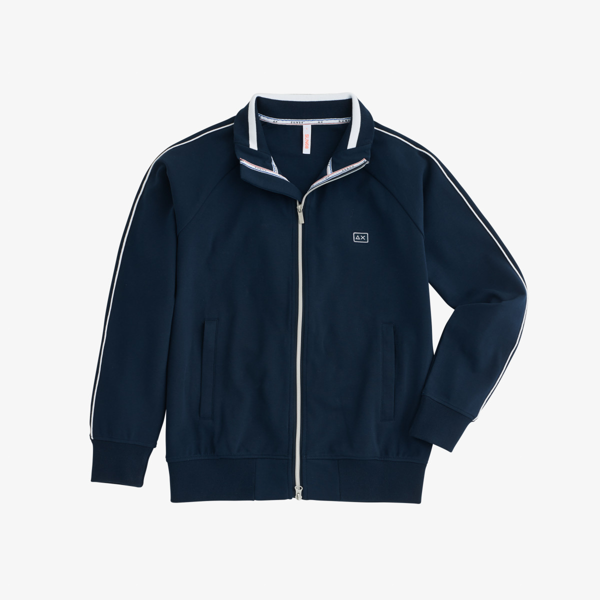 FULL ZIP HERITAGE COTT. FL. NAVY BLUE