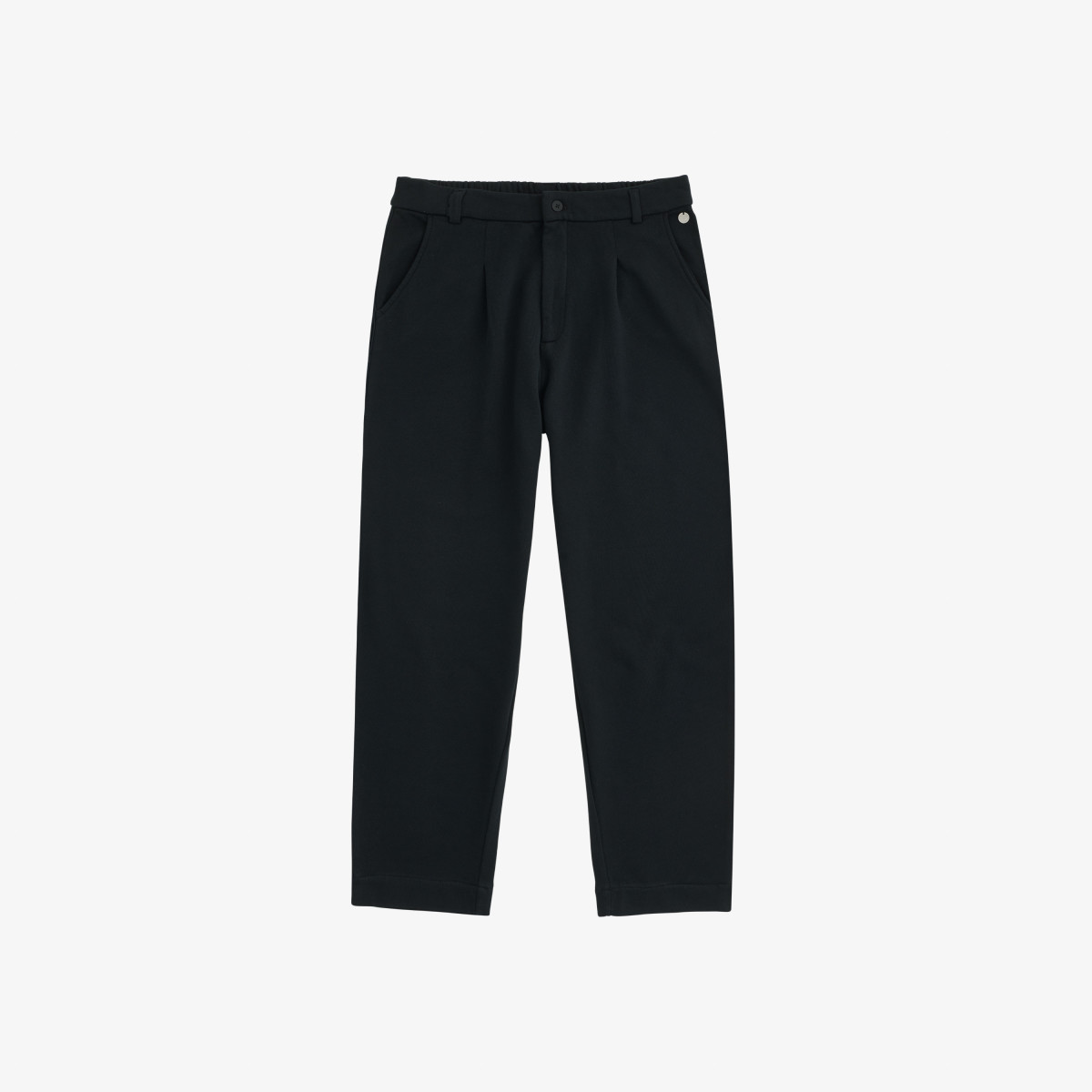 PANT FORMAL COTTON FL. BLACK