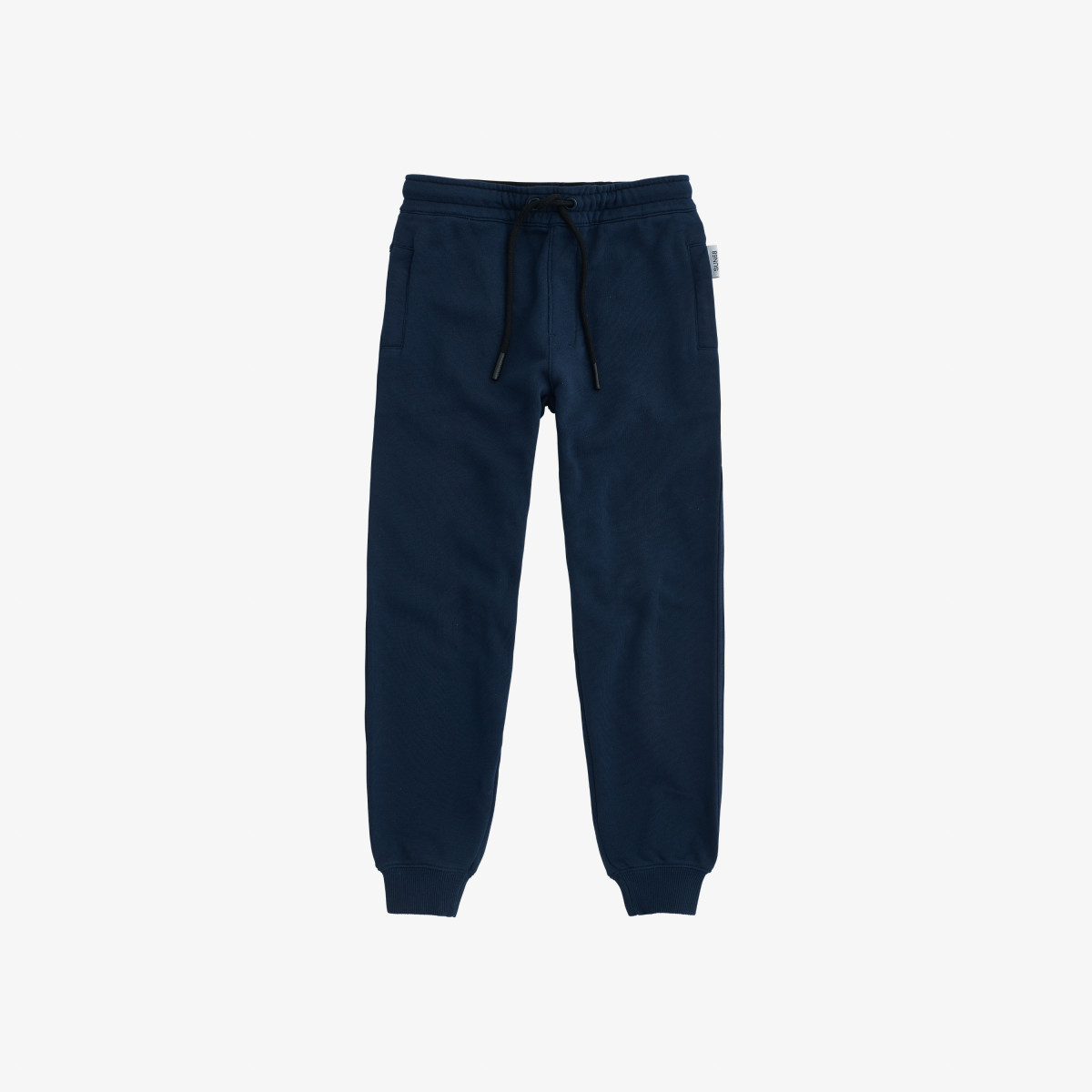 BOY'S PANT BASIC COTT. FL. NAVY BLUE