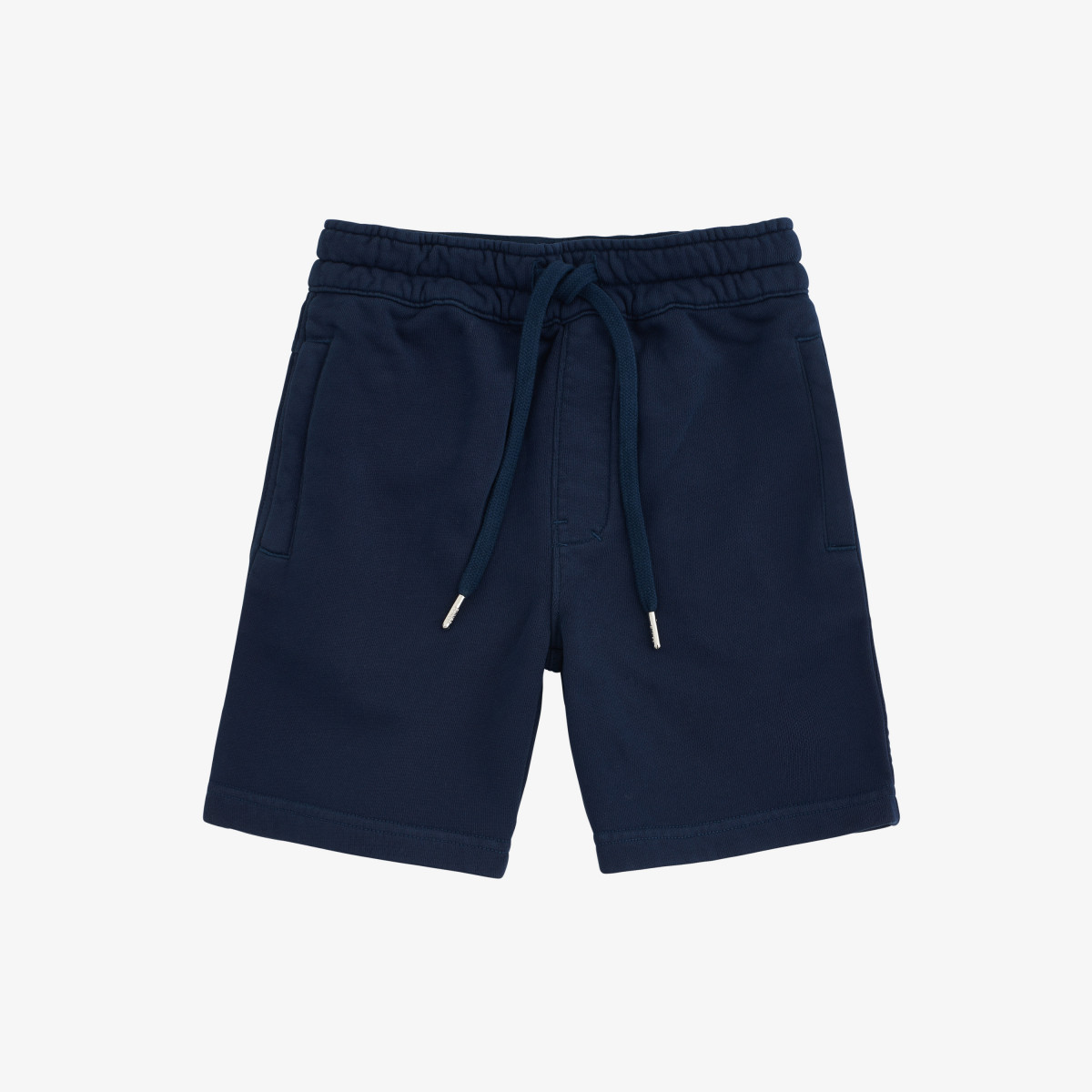 BOY'S PANT SHORT COLD DYE COTT. FL. NAVY BLUE