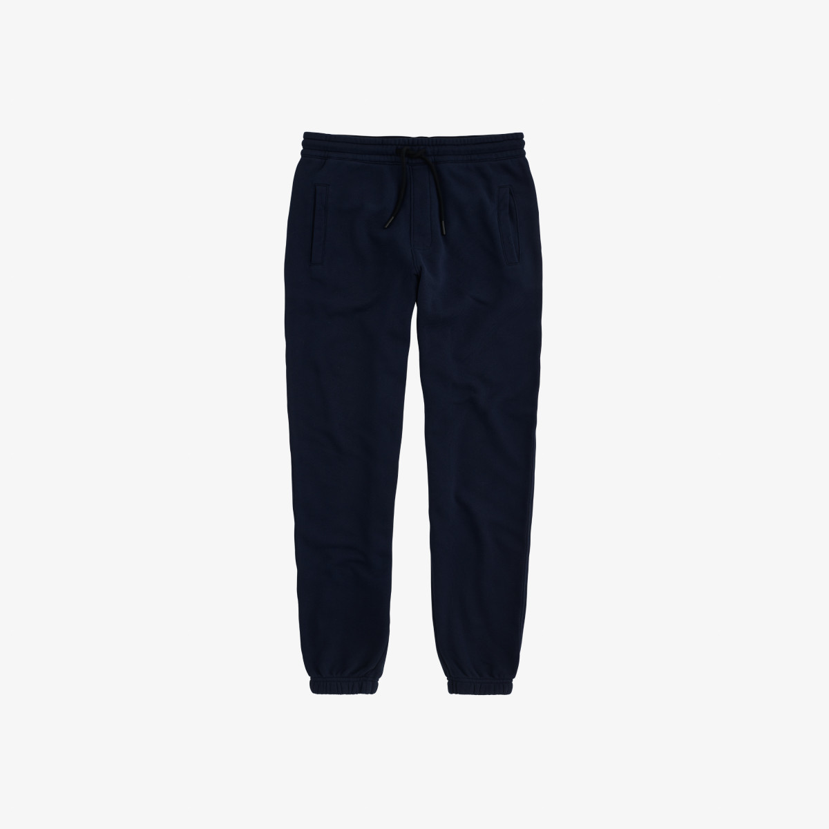 PANT LONG COTT. FL. NAVY BLUE