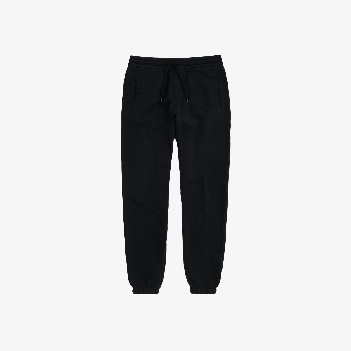 PANT LONG COTT. FL. NERO