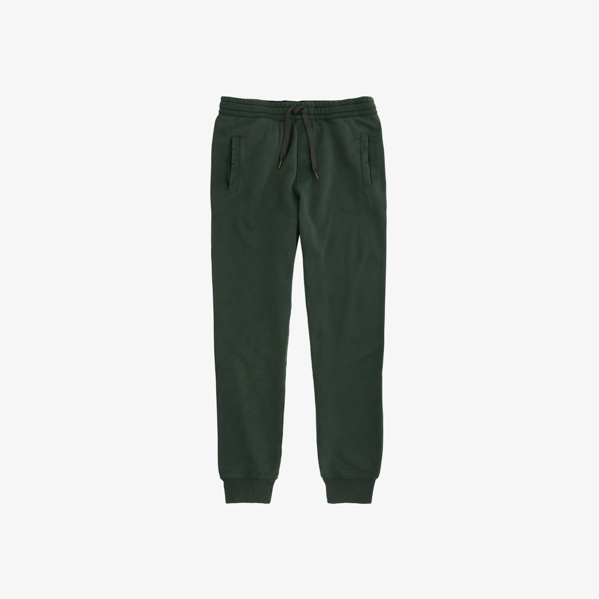 PANT LONG COLD DYE COTT. FL. VERDE SCURO