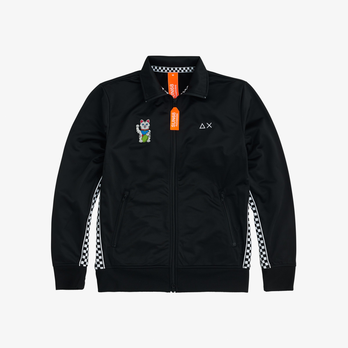 FULL ZIP NERO