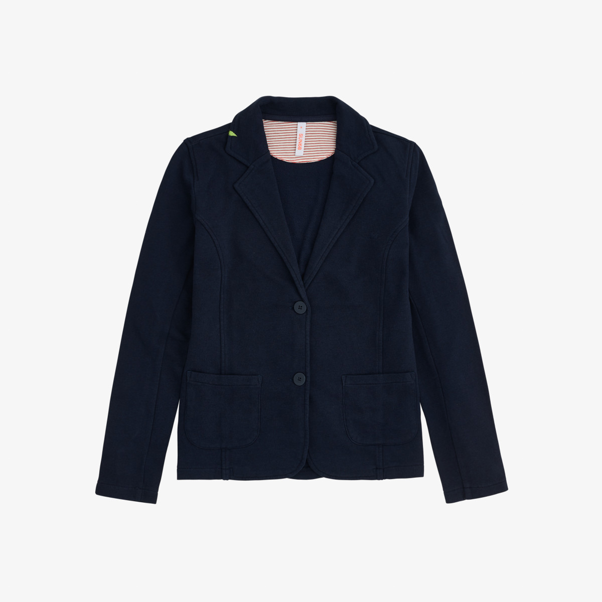 JACKET COTTON FL NAVY BLUE