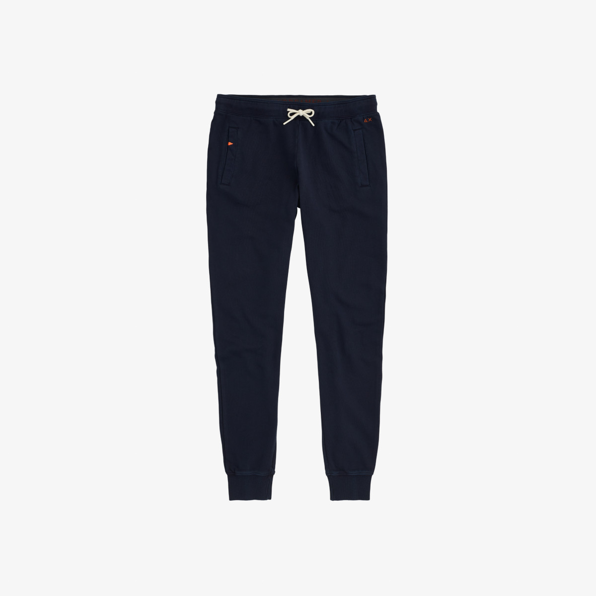 PANT COLD DYE COTTON FL NAVY BLUE