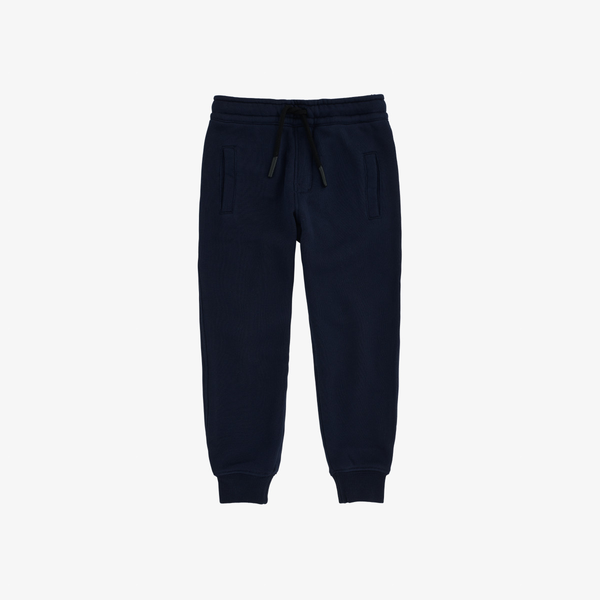 BOY'S PANT LONG BASIC COTT.FL NAVY BLUE