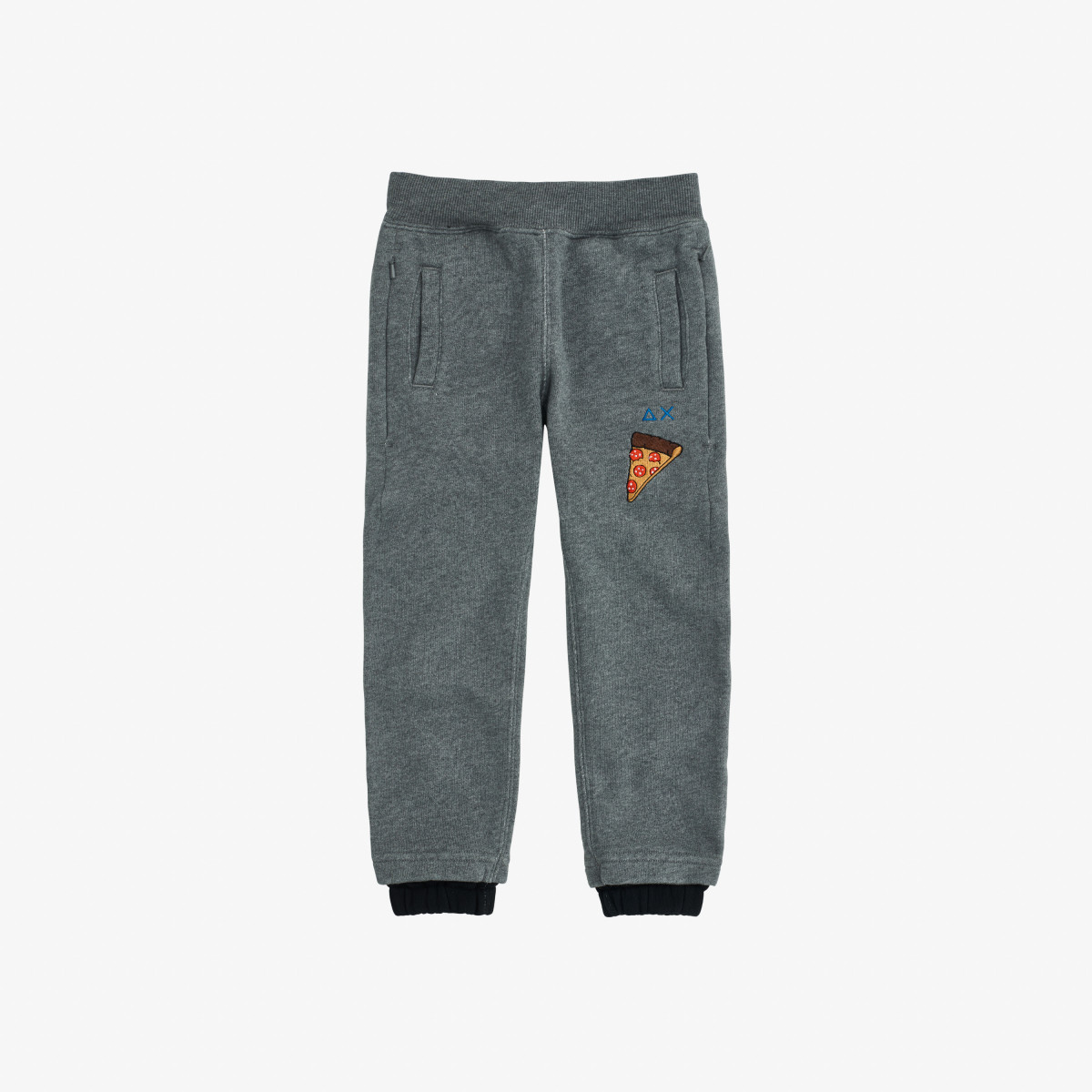 BOY'S PANT LONG COTT.FL MEDIUM GREY