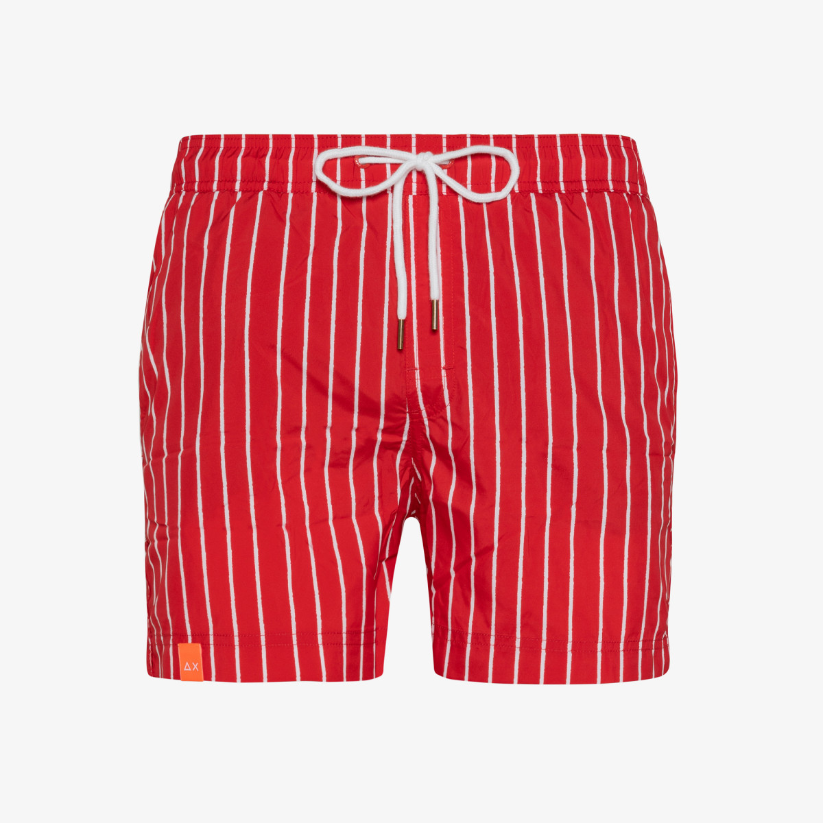 SWIM PANT STRIPES RED