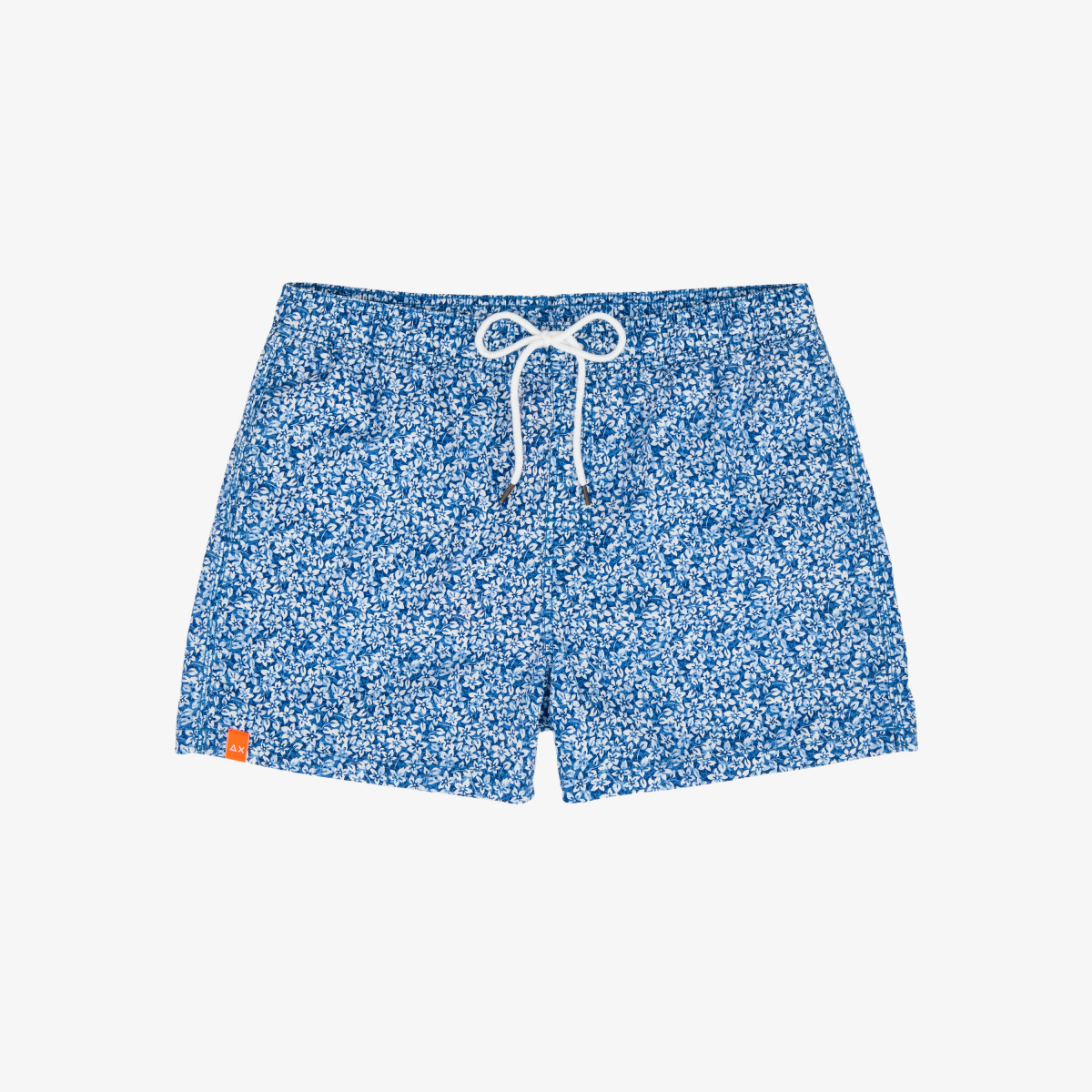 SWIM PANT MICRO PRINT BLUE/WHITE