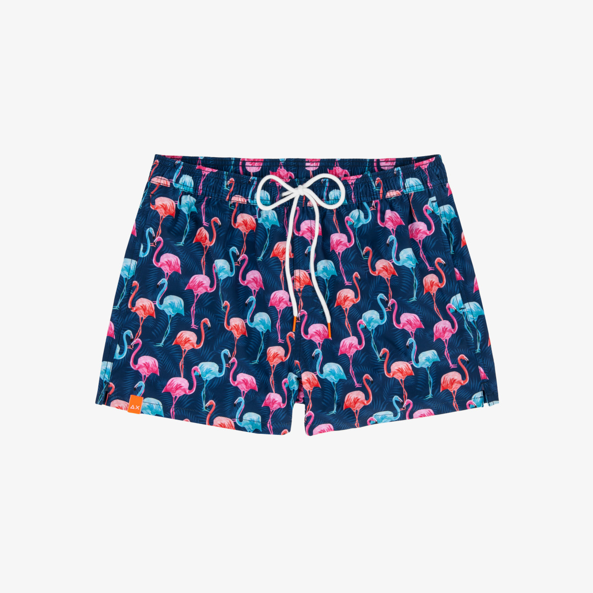SWIM PANT BIG PRINT NAVY BLUE/AZZURRO