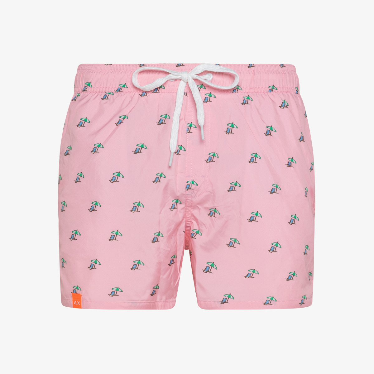SWIM PANT MICROPRINT ROSA