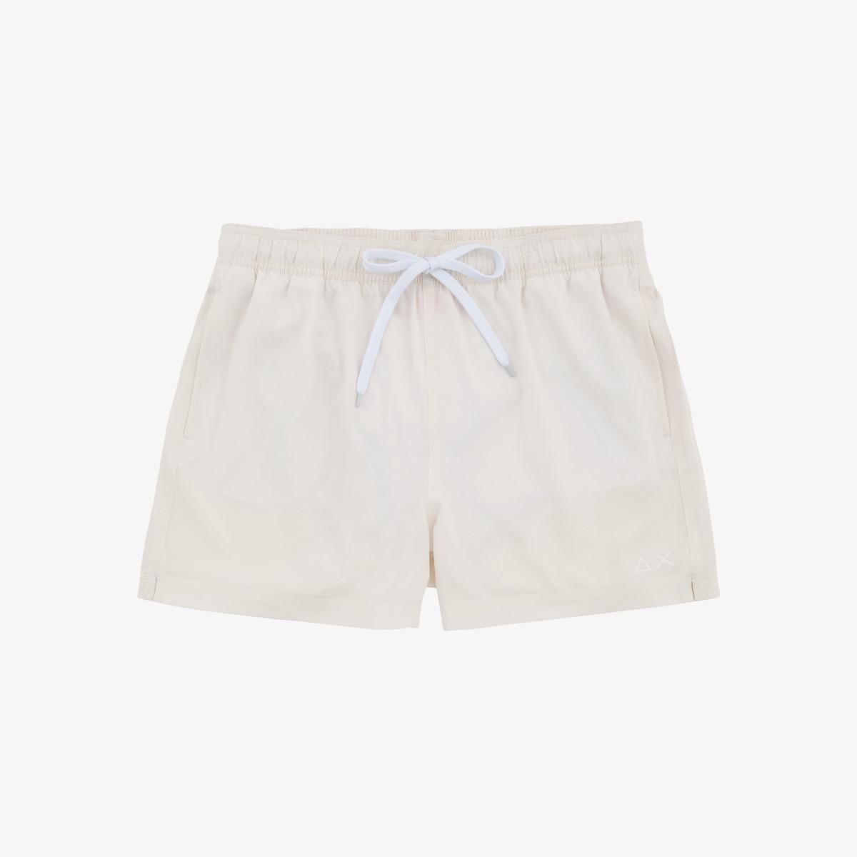 SWIM PANT SOLID OFF WHITE