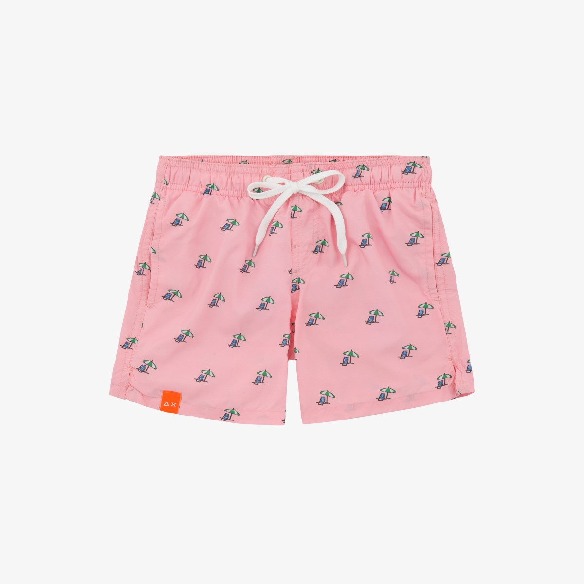 BOY'S SWIM PANT MICROPRINT ROSA