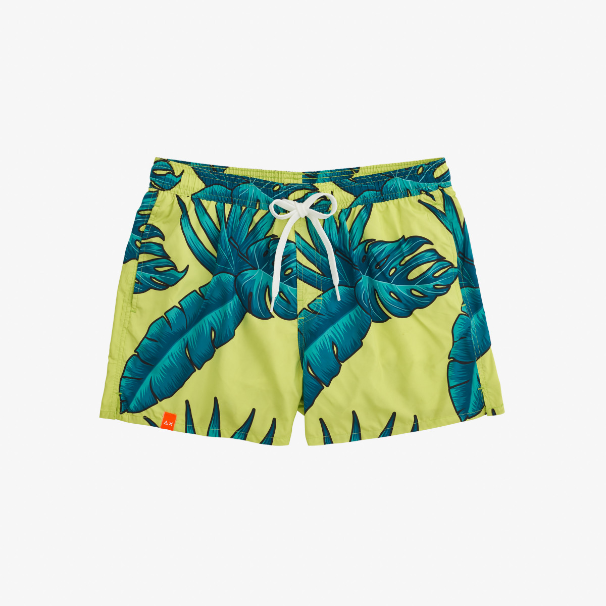 SWIM PANT HAWAII FLUO GREEN FLUO/BLUE FLUO