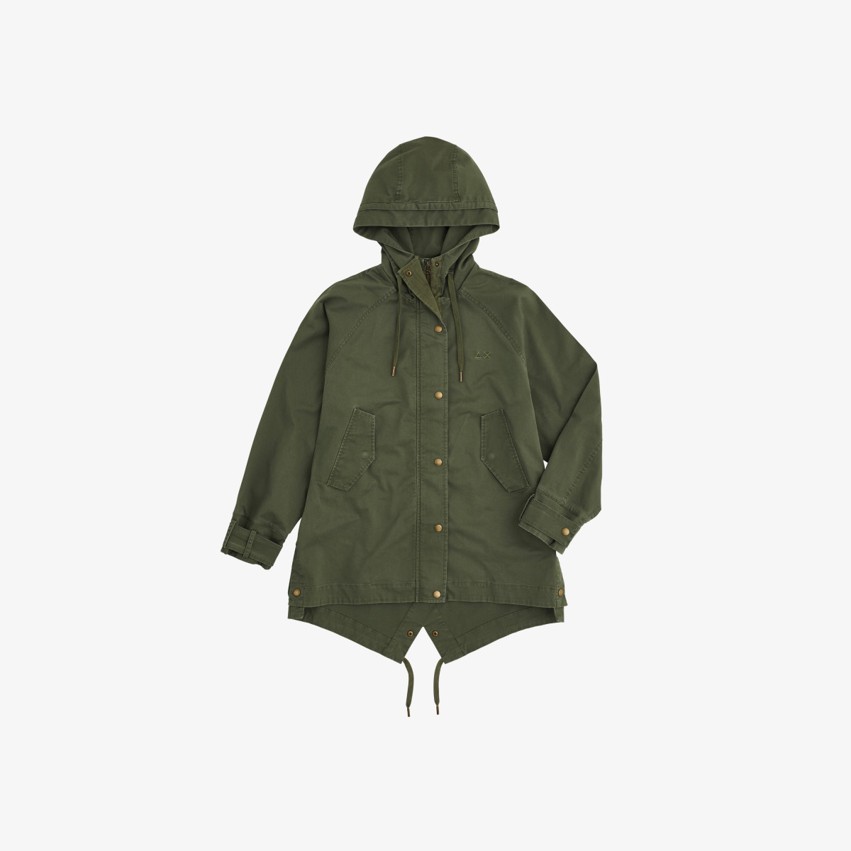 HOOD PARKA COTTON MILITARY