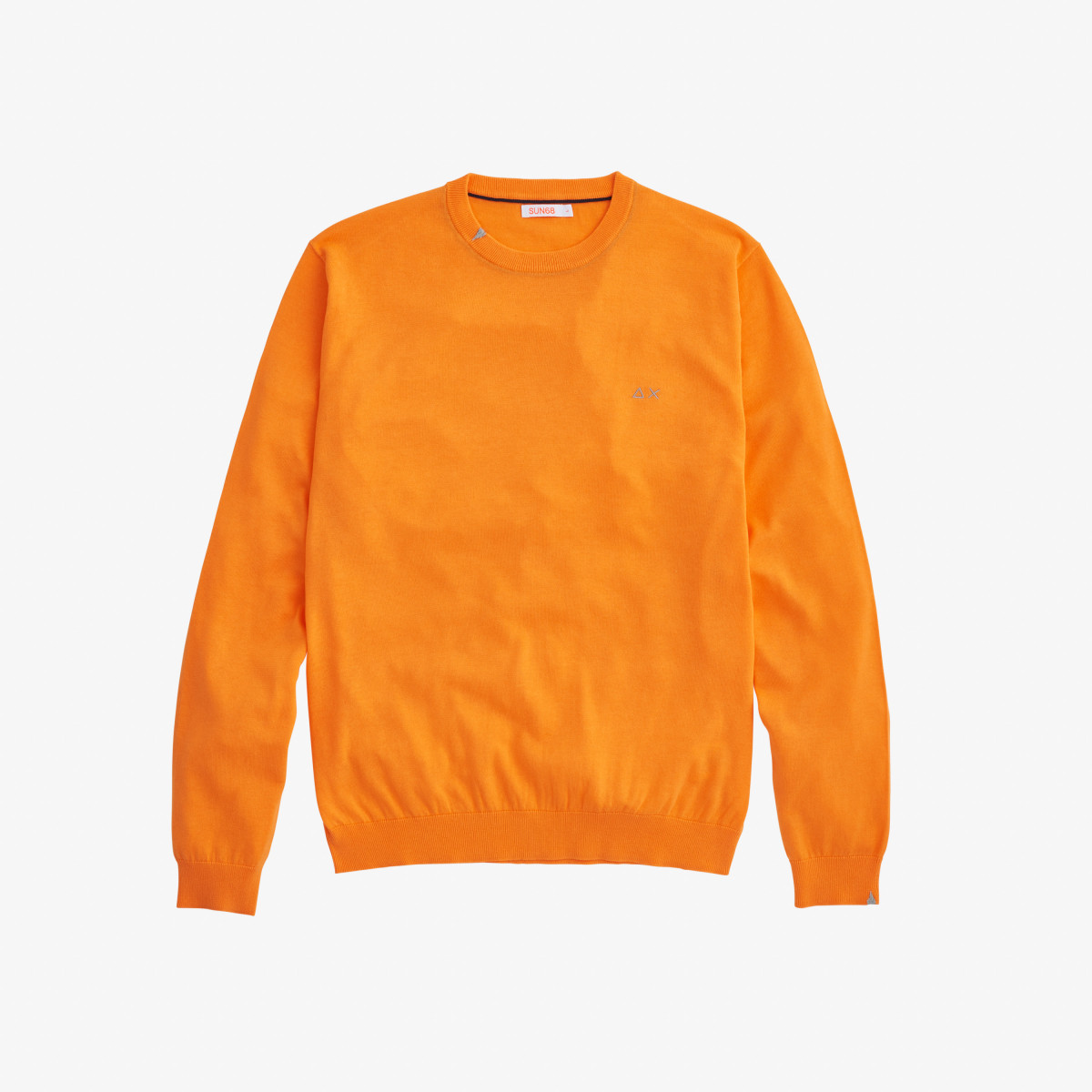 ROUND NECK SOLID CARROT