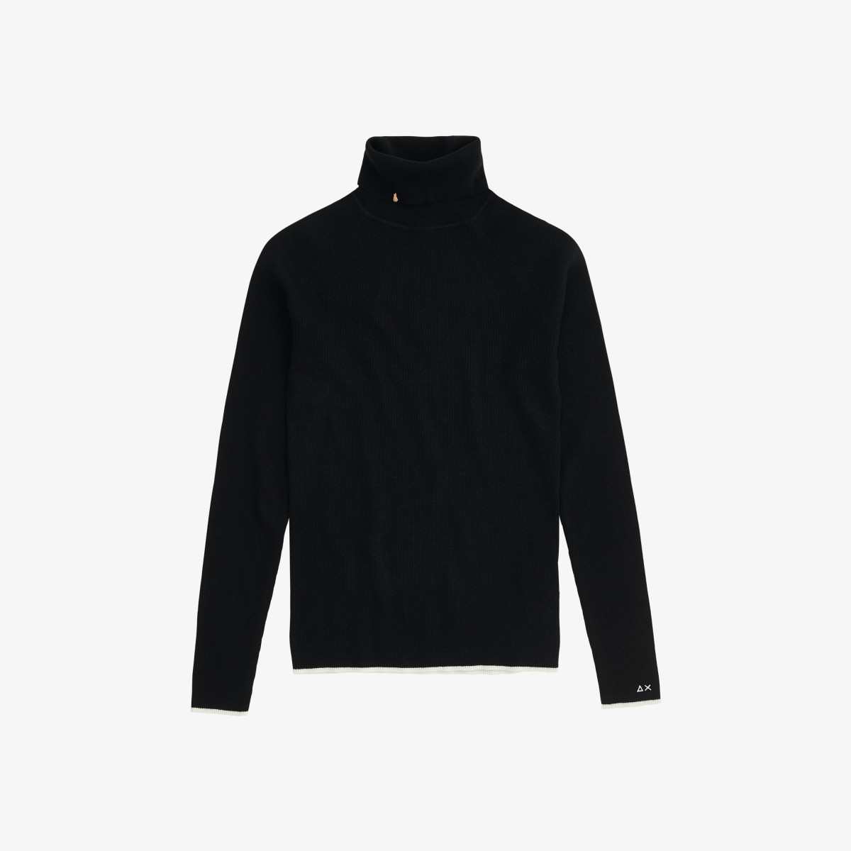 TURTLE NECK L/S BLACK