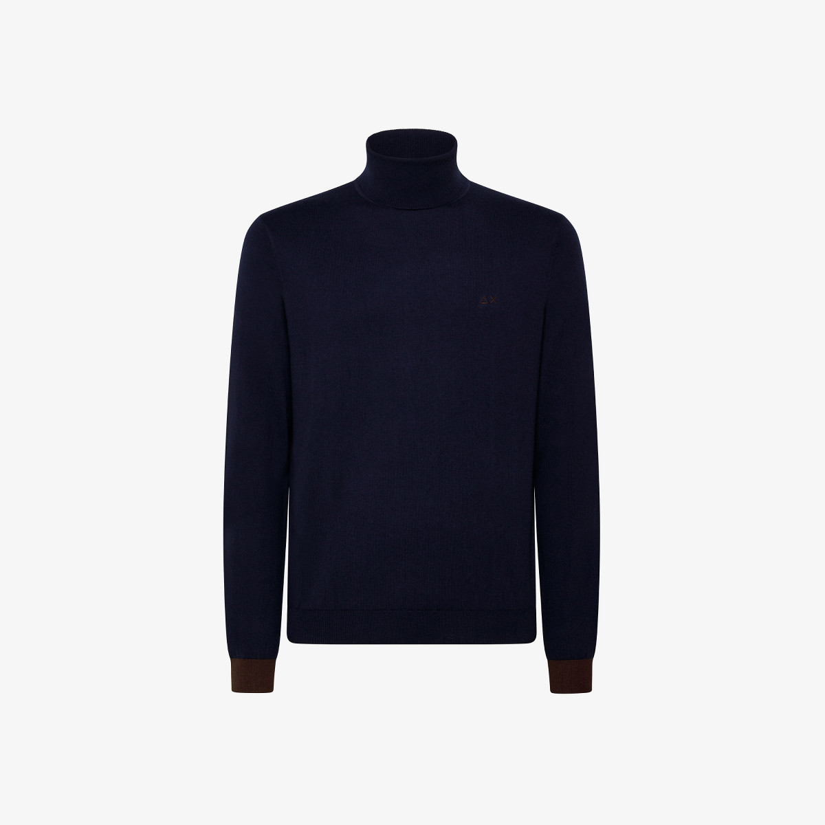 TURTLE ELBOW CONTRAST NAVY BLUE