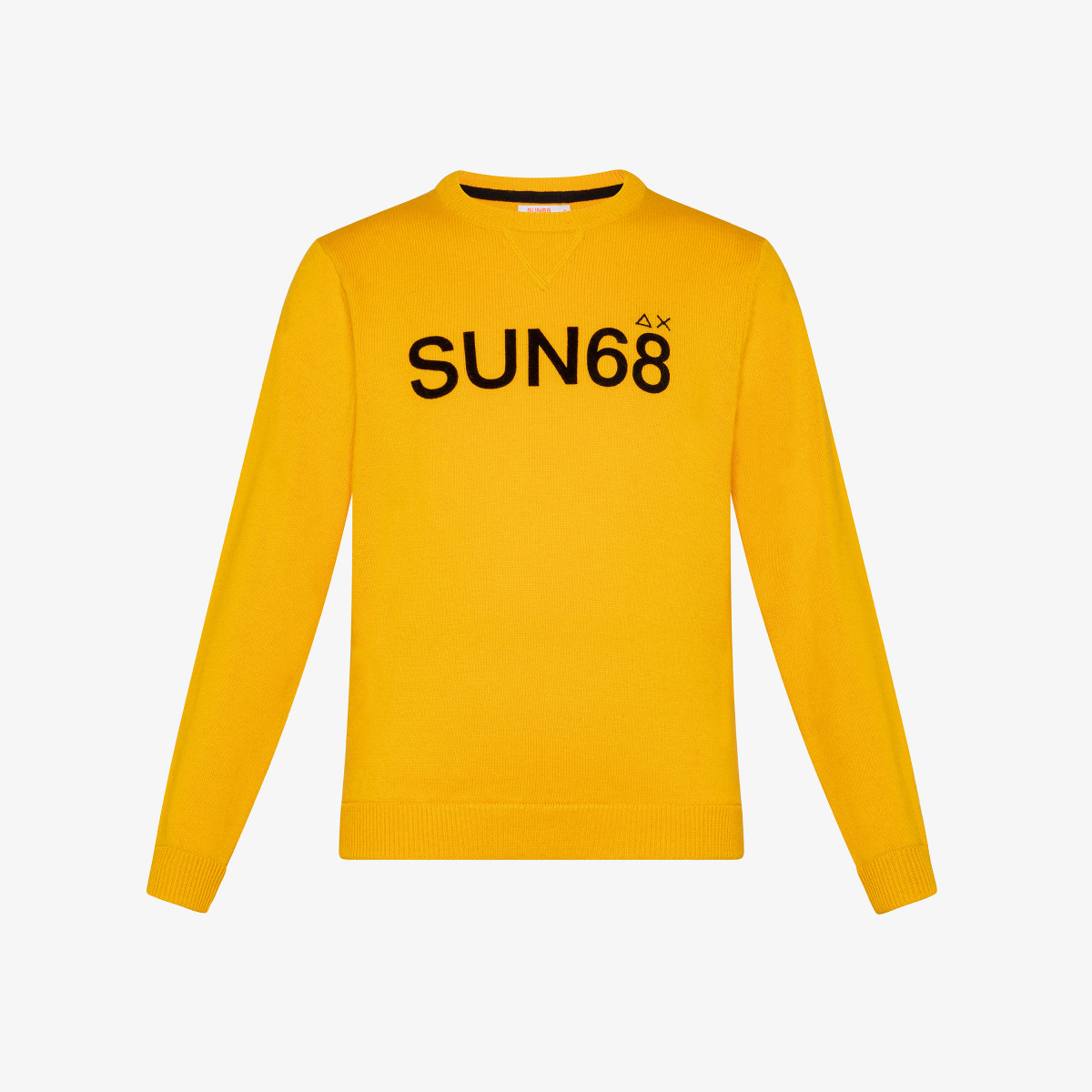 BOY'S ROUND LETTERING ON CHEST YELLOW