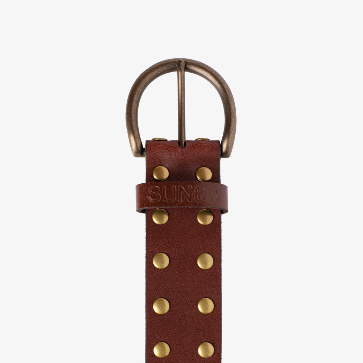 LEATHER BELT TESTA DI MORO