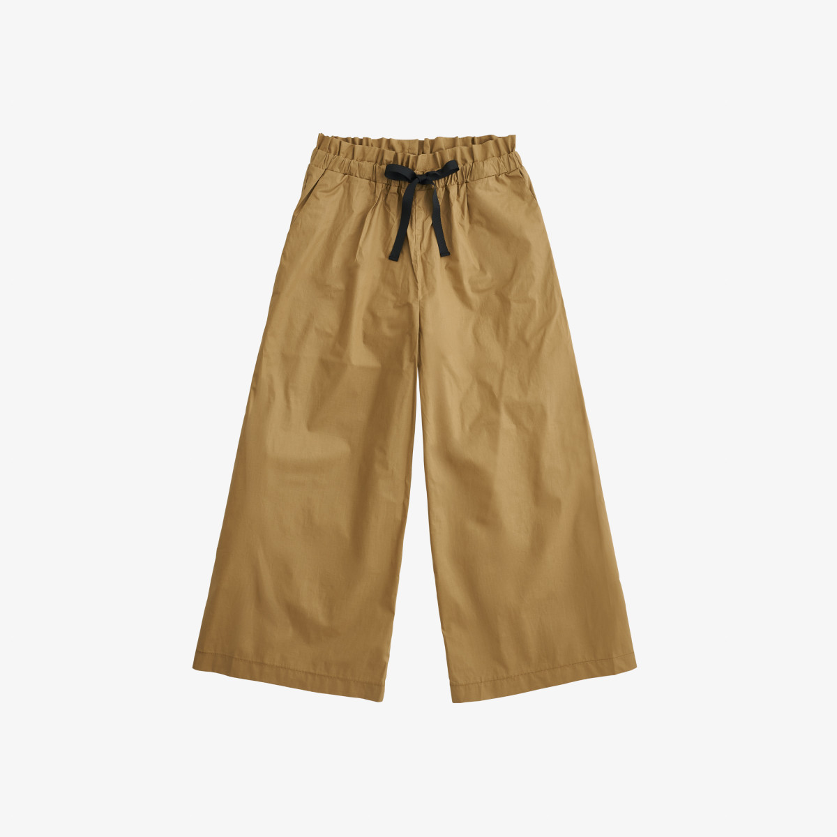 PANTS WIDE LEGS DESERT