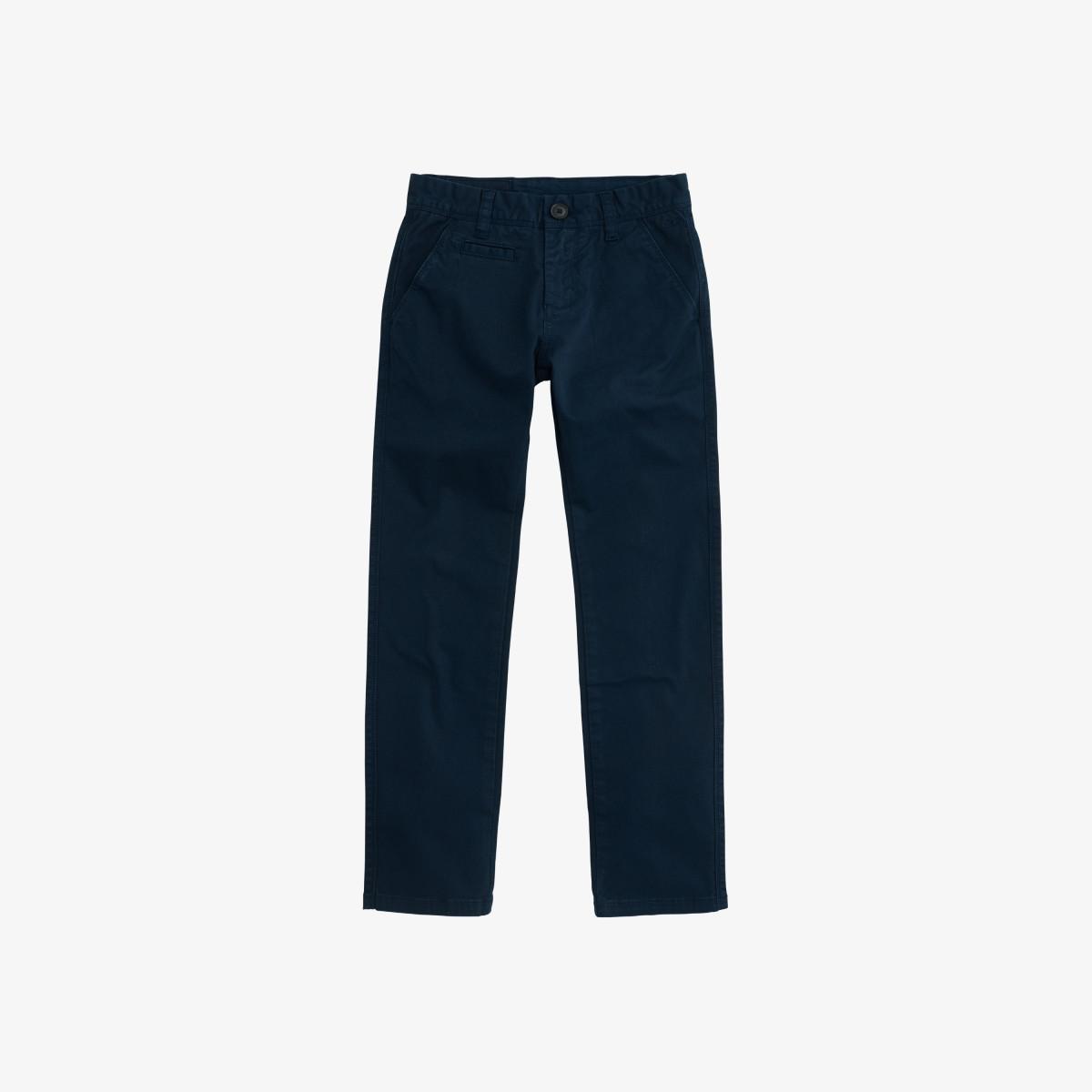 BOY'S PANT CHINO SLIM NAVY BLUE