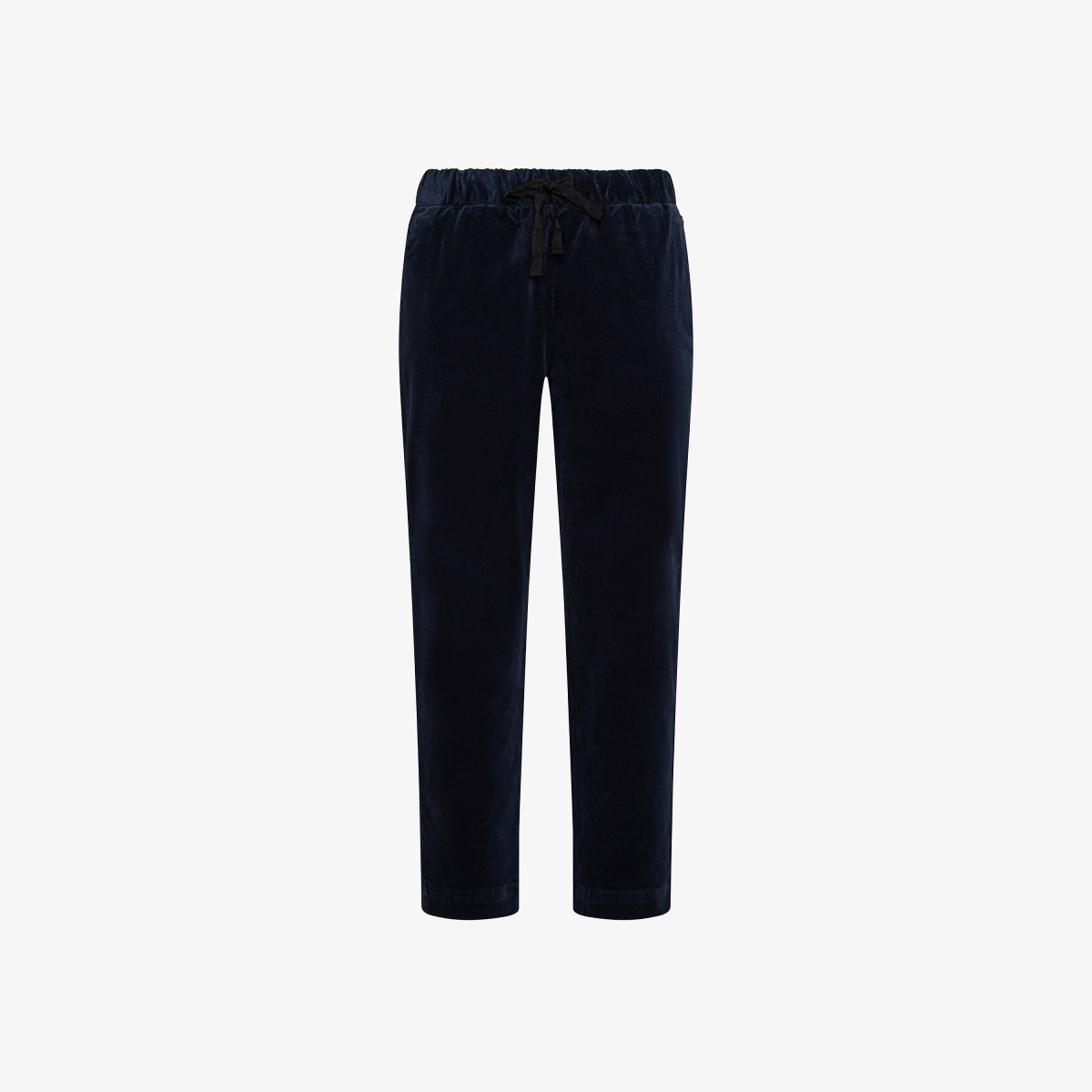PANT CORDUROY WITH ELASTIC NAVY BLUE