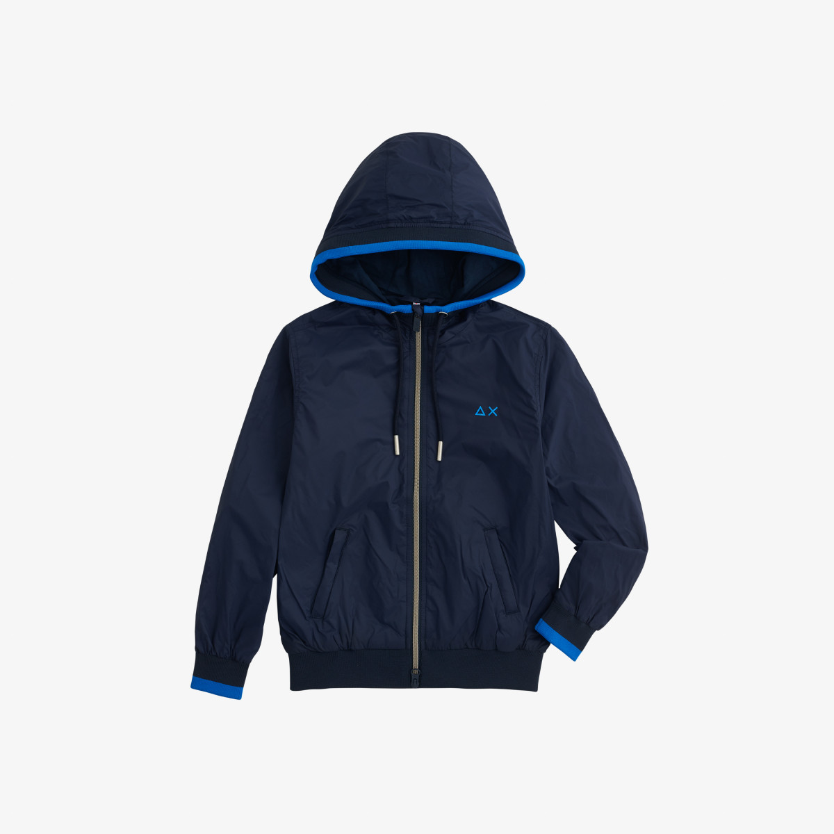 BOY'S RAIN JACKET HERITAGE NAVY BLUE