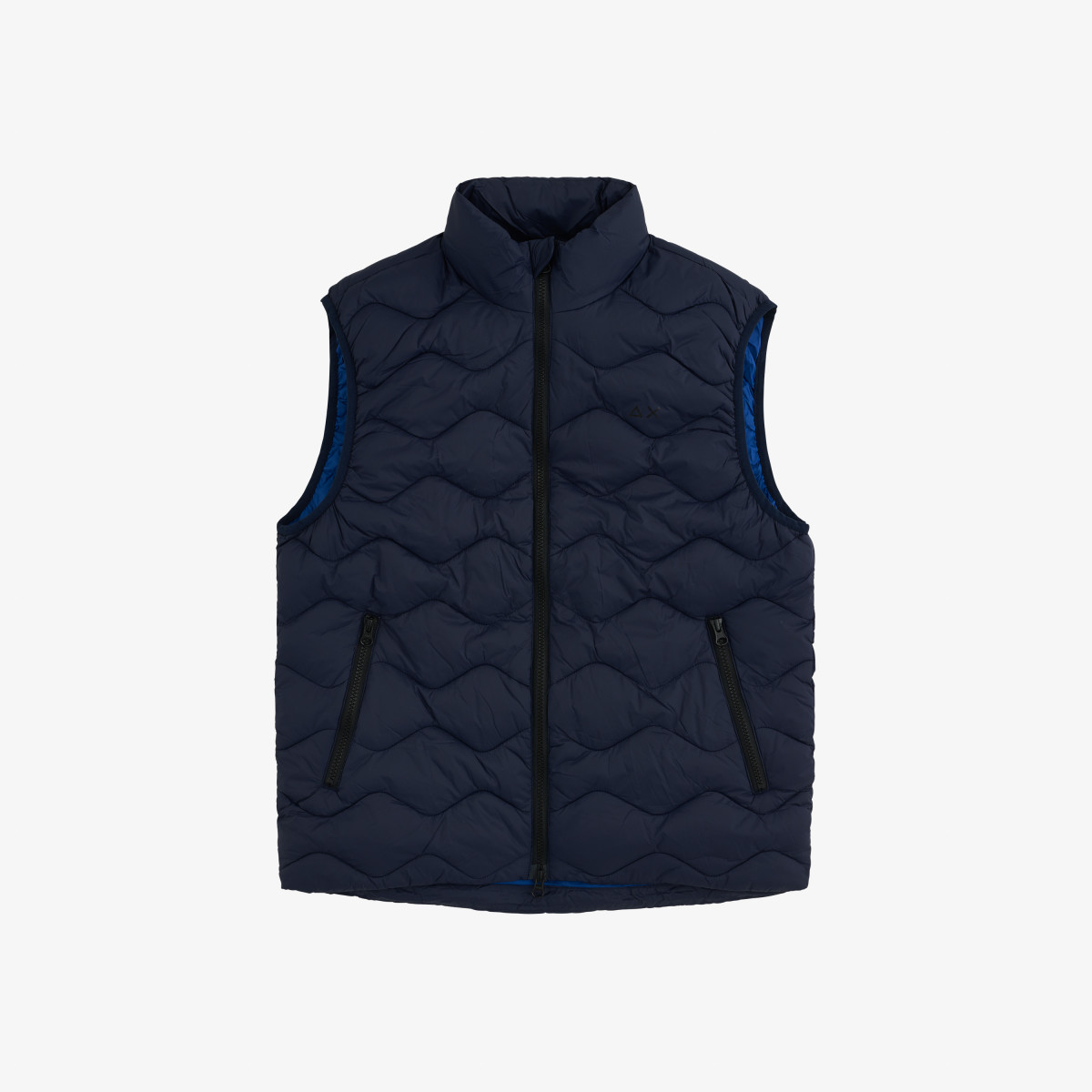 RAIN JACKET NO SLV NAVY BLUE