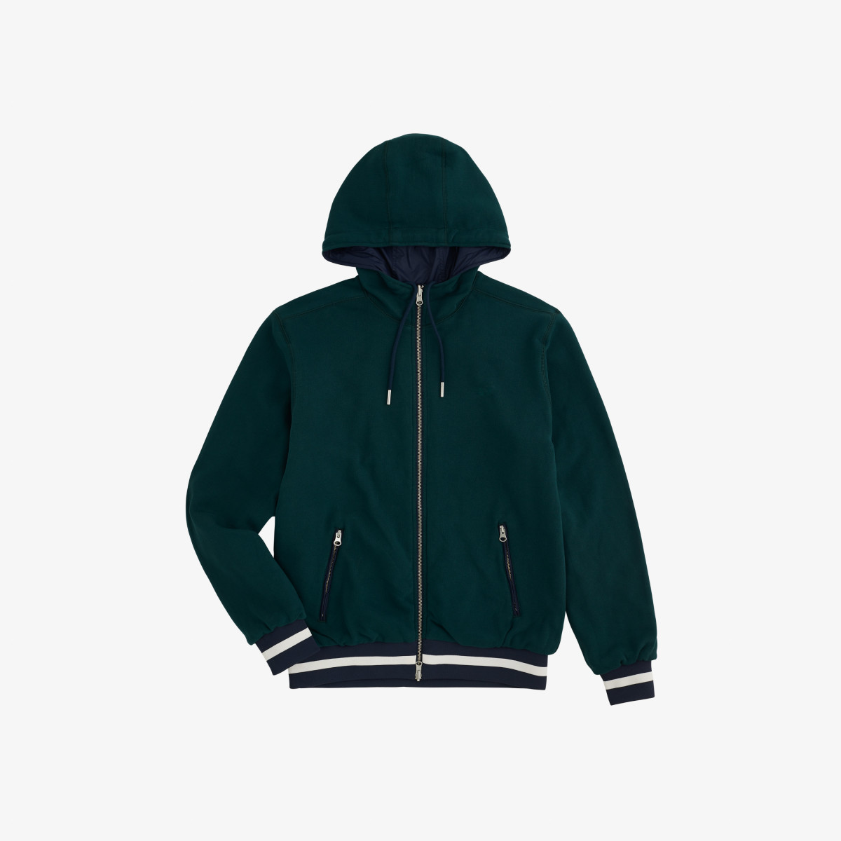RAIN JACKET SOLID NAVY BLUE