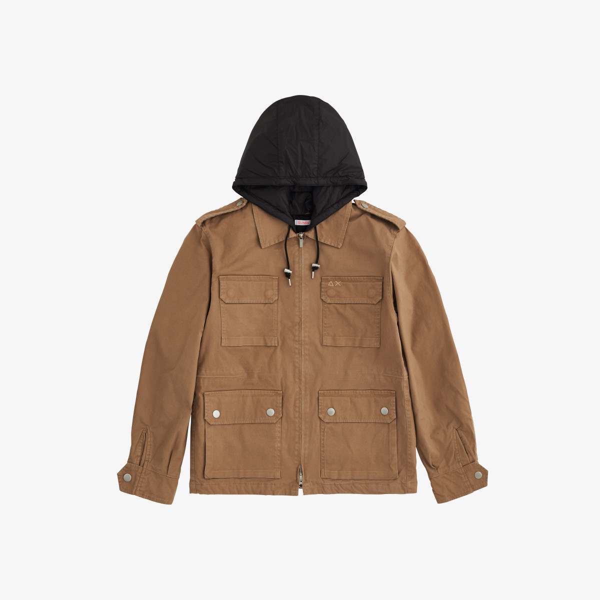 FIELD JACKET COTTON DARK BEIGE