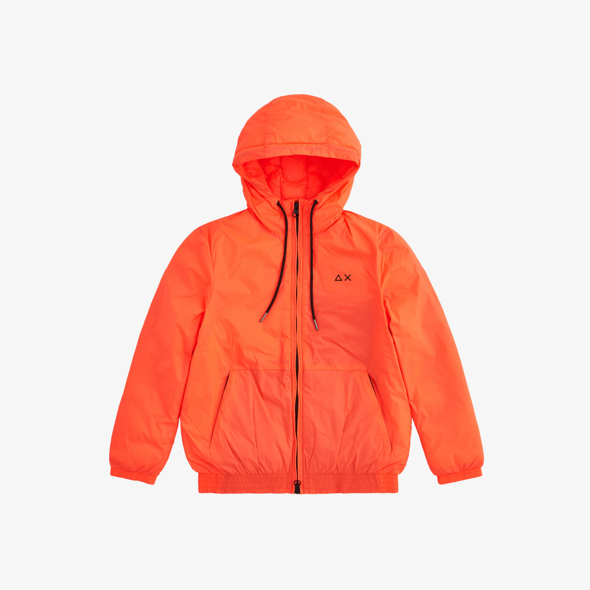 BOY'S RAIN PADDING JACKET ARANCIO FLUO