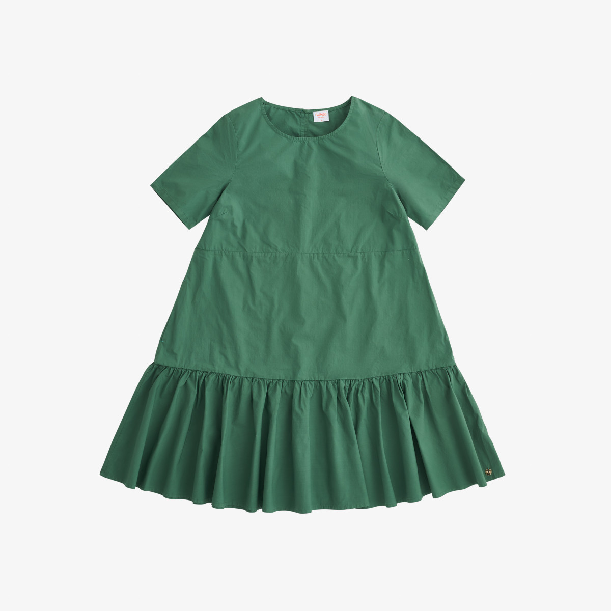 DRESS S/S SAGE GREEN