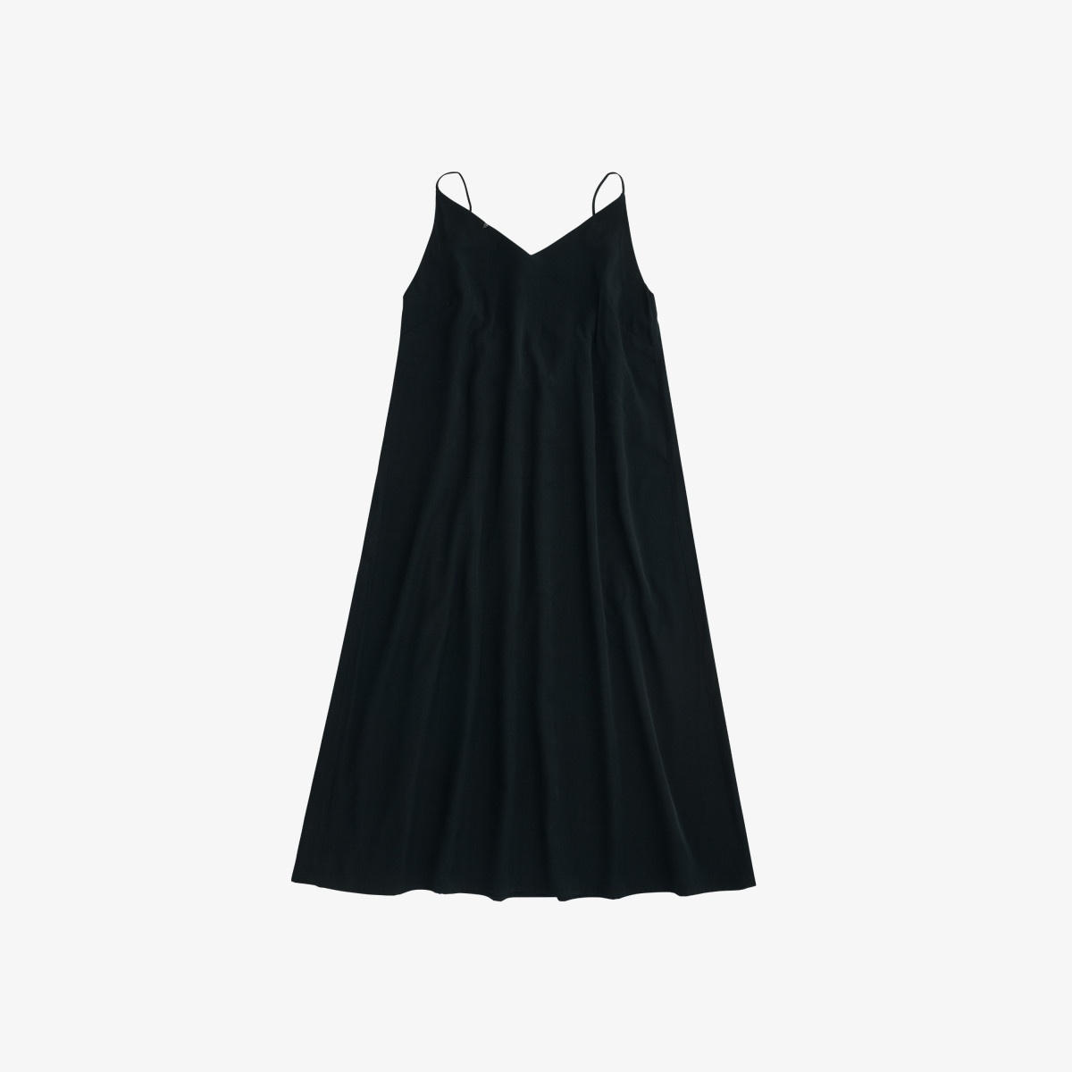 DRESS TANK VISCOSE BLACK