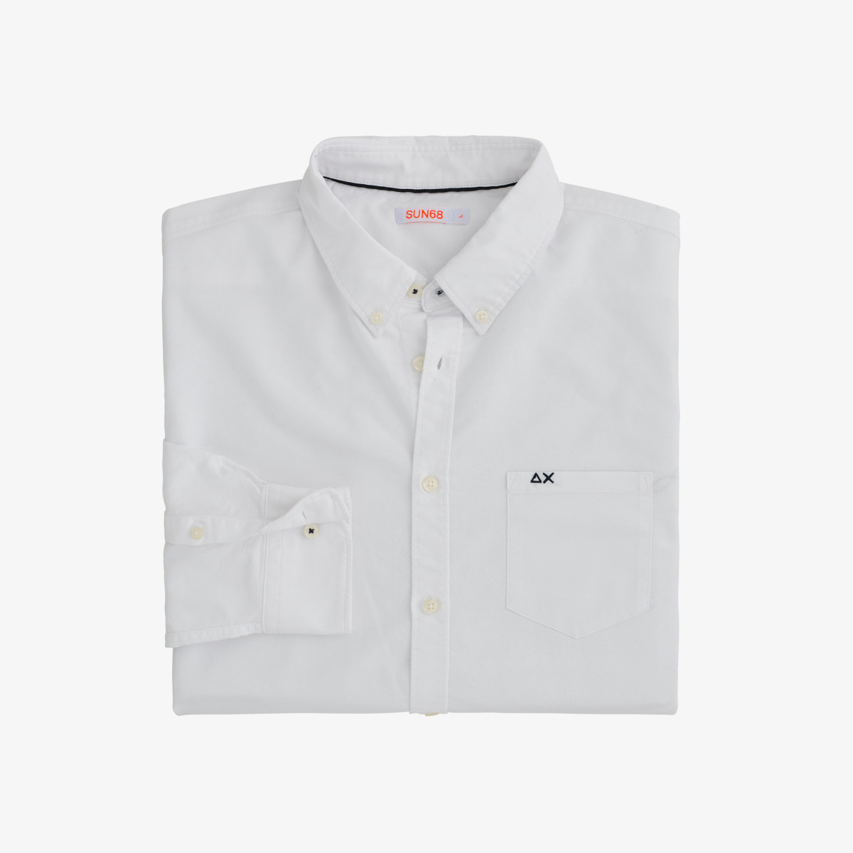 SHIRT OXFORD B/D L/S BIANCO