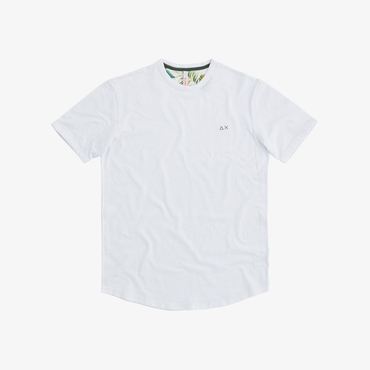 T-SHIRT ROUND SOLID WHITE